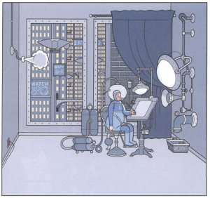 Extrait d'ACME, Chris Ware