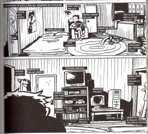 Bryan Lee O'Malley : Scott Pilgrim precious little life (Milady, 2010)