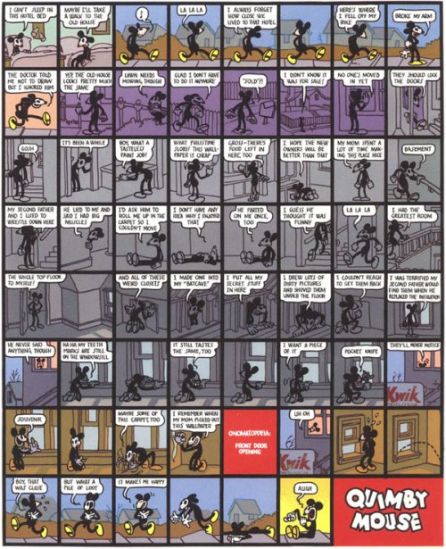 Extrait de {Quimby the Mouse}, Chris Ware